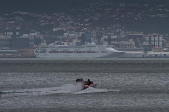 Waterski boat