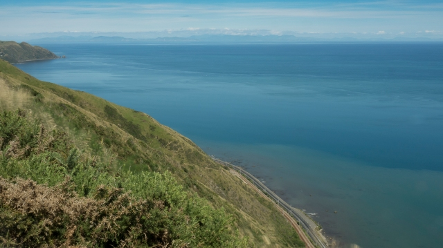 Down the coast from Paekakariki Hill