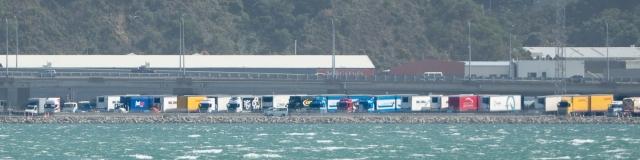 ferry queue