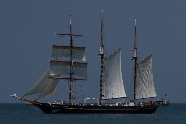 Sail training ship Spirit of New Zealand