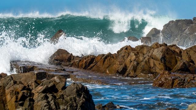 Swells on Wellington South coast