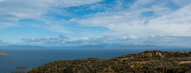 View across Cook Strait from Makara